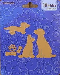 Nellie Snellen's Shape Die - Hobby Solutions Dogs