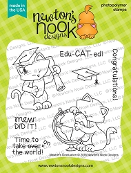 Newton's Nook - Clear Stamp - Newton's Graduation