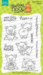 Newton's Nook - Clear Stamp - Oink
