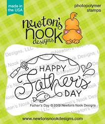 Newton's Nook - Clear Stamp - Father's Day