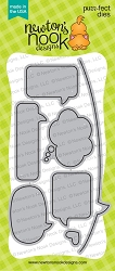 Newton's Nook - Cutting Die - Speech Bubbles Die Set