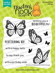 Newton's Nook - Clear Stamp - Monarchs