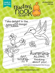 Newton's Nook - Clear Stamp - Hummingbird
