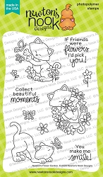 Newton's Nook - Clear Stamp - Newton's Flower Garden