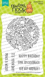 Newton's Nook - Clear Stamp - Birthday Roundabout