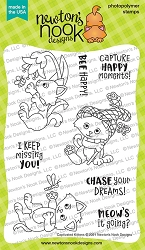 Newton's Nook - Clear Stamp - Captivated Kittens