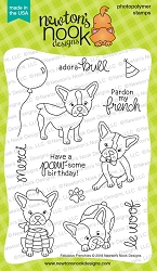 Newton's Nook - Clear Stamp - Fabulous Frenchies