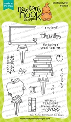 Newton's Nook - Clear Stamp - Classy Teachers