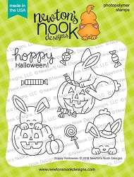 Newton's Nook - Clear Stamp - Hoppy Halloween