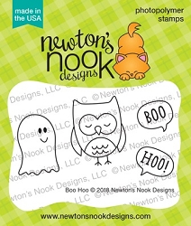 Newton's Nook - Clear Stamp - Boo Hoo