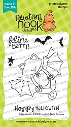 Newton's Nook - Clear Stamp - Batty Newton
