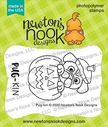 Newton's Nook - Clear Stamp - Pug-kin