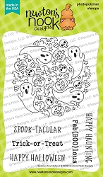 Newton's Nook - Clear Stamp - Spooky Roundabout