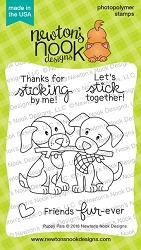 Newton's Nook - Clear Stamp - Puppy Pals