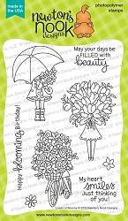 Newton's Nook - Clear Stamp - Loads of Blooms