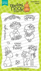 Newton's Nook - Clear Stamp - Woodland Spring
