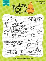 Newton's Nook - Clear Stamp - Newton's Peeps