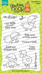 Newton's Nook - Clear Stamp - Baa