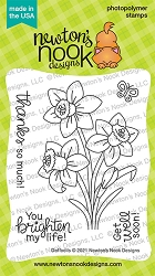 Newton's Nook - Clear Stamp - Daffodils