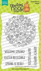 Newton's Nook - Clear Stamp - Spring Roundabout