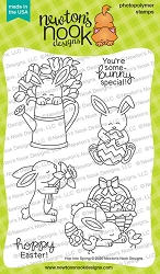 Newton's Nook - Clear Stamp - Hop Into Spring