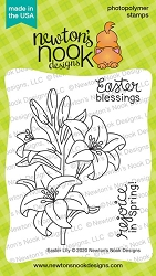 Newton's Nook - Clear Stamp - Easter Lily