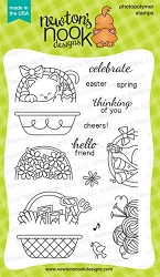 Newton's Nook - Clear Stamp - Baskets of Wishes