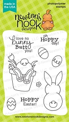 Newton's Nook - Clear Stamp - Bunny Hop
