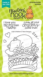 Newton's Nook - Clear Stamp - Newton's Naptime