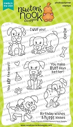 Newton's Nook - Clear Stamp - Puppy Playtime