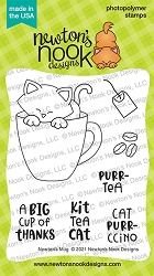 Newton's Nook - Clear Stamp - Newton's Mug