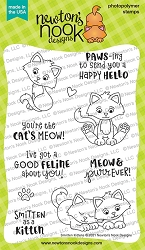 Newton's Nook - Clear Stamp - Smitten Kittens