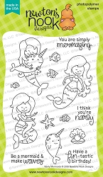 Newton's Nook - Clear Stamp - Narly Mermaids