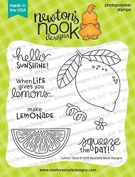 Newton's Nook - Clear Stamp - Lemon Twist