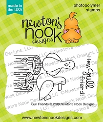 Newton's Nook - Clear Stamp - Gull Friends
