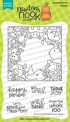 Newton's Nook - Clear Stamp - Zoo Party
