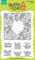 Newton's Nook - Clear Stamp - Tropical Fringe