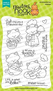 Newton's Nook - Clear Stamp - Newton's Kitchen