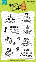 Newton's Nook - Clear Stamp - Say Woof