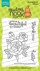 Newton's Nook - Clear Stamp - Roses