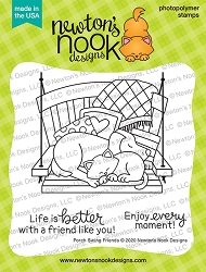 Newton's Nook - Clear Stamp - Porch Swing Friends