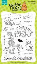 Newton's Nook - Clear Stamp - Wild Child