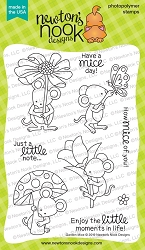 Newton's Nook - Clear Stamp - Garden Mice