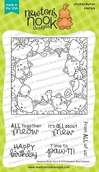 Newton's Nook - Clear Stamp - Newton's Block Party