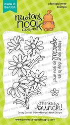 Newton's Nook - Clear Stamp - Dainty Daisies