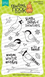 Newton's Nook - Clear Stamp - Winter Birds