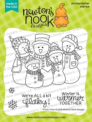 Newton's Nook - Clear Stamp - Frosty Folks
