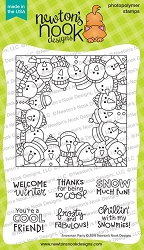 Newton's Nook - Clear Stamp - Snowman Party