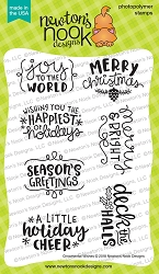 Newton's Nook - Clear Stamp - Ornamental Wishes