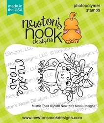 Newton's Nook - Clear Stamp - Mistle Toad